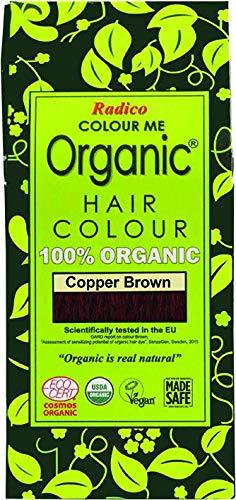 Radico - Hair Colour - Organic Cooper Brown - 100 g