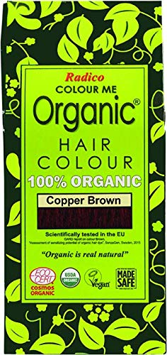 Radico - Hair Colour - Organic Cooper Brown - 100 g