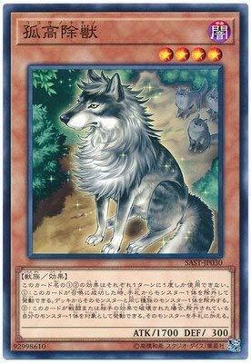 遊戯王/第10期/07弾/SAST-JP030 孤高除獣 NR