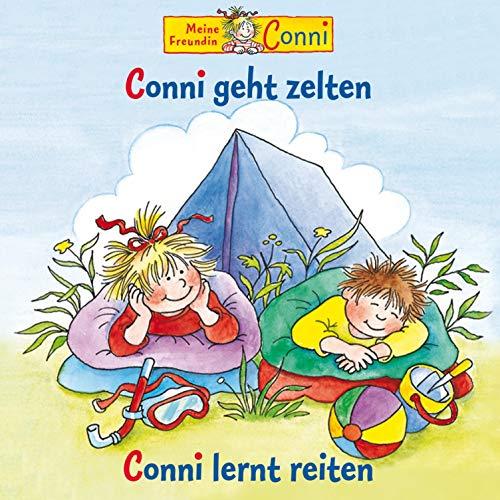 Conni geht zelten / Conni lernt reiten Titelbild