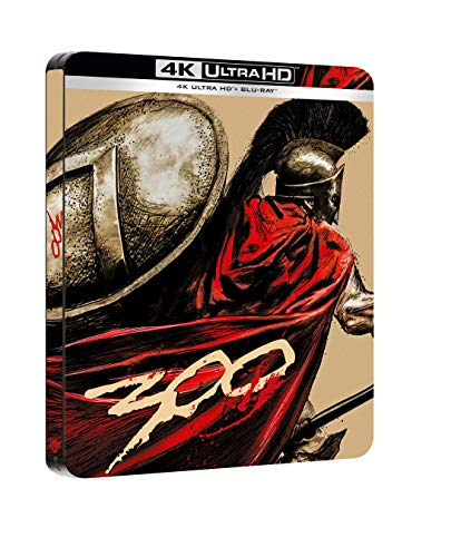300 Steelbook (4K Ultra HD + Blu Ray)