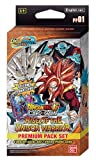 Dragon Ball Super Series 10 Rise of The Unison Warrior Special Premium Pack Booster Set – 4 paquetes + 2 PR