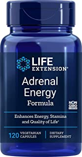 Life Extension Adrenal Energy Formula, 120 Vegetarian Capsules