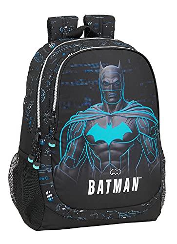 safta Mochila Escolar de Batman Bat-Tech, 320x160x440 mm