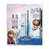 Reine des Neiges Frozen–as9007–Set papelería Estuche con diseño metálico