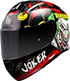 CASCO MT TARGO JOKER A1 NEGRO BRILLO (XL)