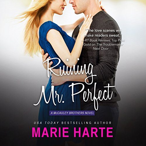 Ruining Mr. Perfect audiobook cover art