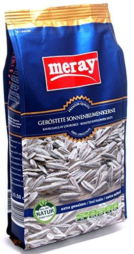 Meray - Sonnenblumenkerne geröstet und EXTRA gesalzen (300g)