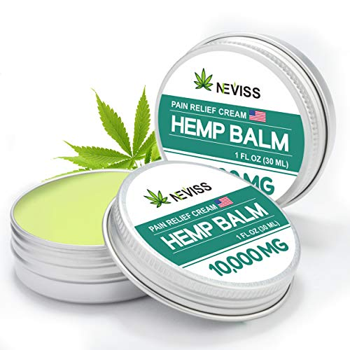 (2 Pack) Hemp Gel for Pain Relief, Organic Hemp Active Gel, Natural Hemp Pain Relief Cream for Back, Knee, Neck, Nerve & Joint Pain, Premium Hemp Herbal Extract Balm for Inflammation & Sore Muscles