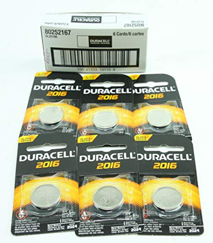 Duracell Lithium Battery Security 3 Volt 2016 1 Each (Pack of 6)