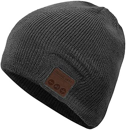 Bluetooth Beanie Hat Wireless Headphones Headset Music Hat Winter Knit Cap with Stereo Speakers product image