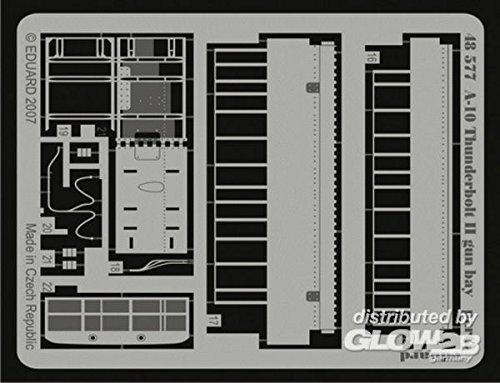 Eduard Accessories 48577 Modélisme Accessoires a – 10 Thunderbolt II Gun Bay pour Hobby Boss Kit