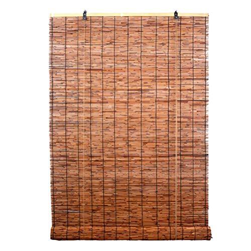 RONGXUE bamboe jaloezieën, buiten rolgordijnen, jaloezieën binnen en buiten terras tuin Gazebo Carport Porch jaloezieën deuren en ramen