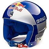 Briko Casque De Ski Vulcano Fis 6.8 Rb Lvf SH Silver Blue Gold
