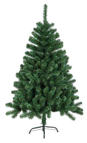 DP-Tech 180 cm 930 Spitzen künstlicher Weihnachtsbaum Tannenbaum Christbaum in grün inkl. Metallfuß Christbaumständer
