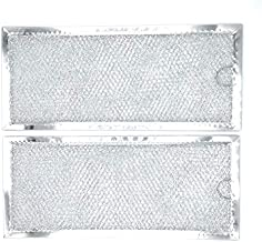 Blendin Replacement WB06X10596 Grease Air Filter, Compatible with GE Microwaves Range Hood (2 Pack)