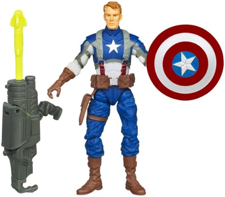 Marvel Avengers Movie 4 Inch Action Figure Rocket Grenade Captain America
