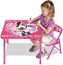 Minnie Mouse Table Blossoms & Bows Jr. Activity Set with 1 Chair
