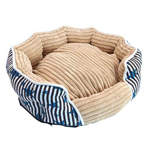 MCSHGPETY hondenbed Premium banken voor katten en honden waterdicht kussen slaapstoel kleine dieren huisdier benodigdheden, L, Blauw