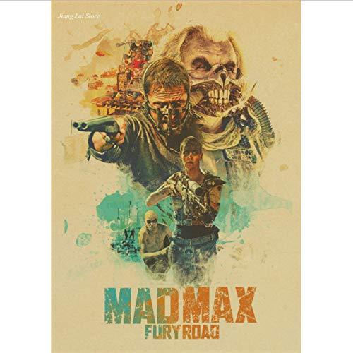 Plakat Mad Max Fury Straße Tom Hardy Charlize Theron Filmplakat Und Drucke Kunst Malerei Wandbilder Wohnkultur 50X70Cm No Frame
