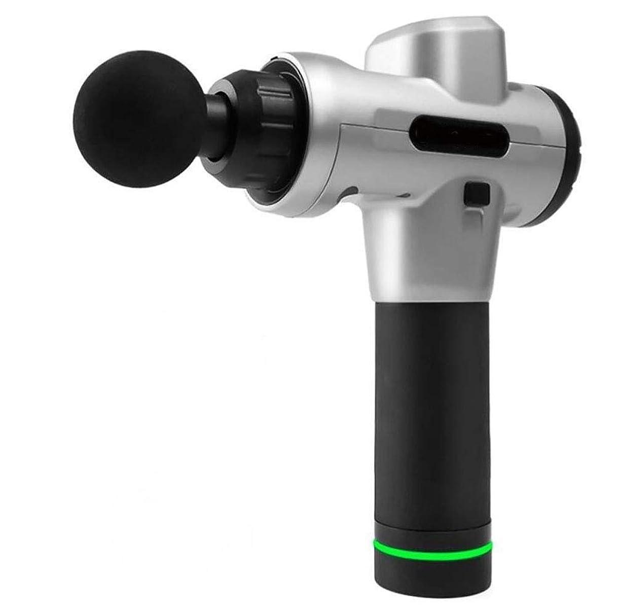 切手解決素晴らしいですXSWZAQ 筋膜銃筋肉ディープリラクゼーション理学療法筋膜マッサージ銃タッチスクリーン
