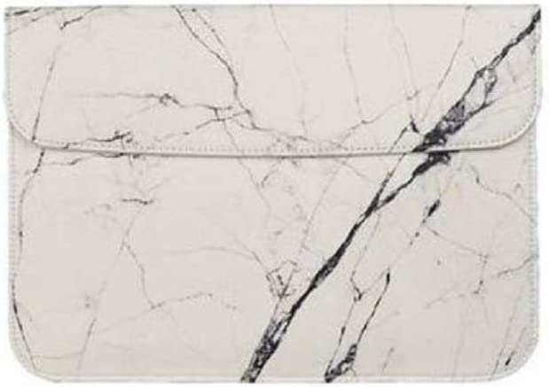 Ranking TOP12 Funky Rico Marble Sale special price Sleeve Laptop White
