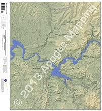 Mormon Flat Dam, Arizona 7.5 Minute Topographic Map - Waterproof Paper (amTopo)