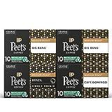 Peet's Coffee Medium Roast Variety Pack K-Cup Coffee Pods for Keurig Brewers, Variety Pack, 40 Pods