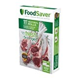 FoodSaver 11' x 16' Vacuum Seal Roll with BPA-Free Multilayer Construction for Food Preservation, 3-Pack