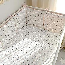 Super Soft Baby Cot Bed Bumper Set Crib All Around Bumper Protector 2M 4M 6M UK