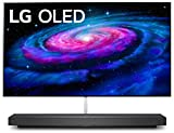 LG OLED65WXPUA Alexa BuiltIn WX 65Inch Wallpaper Design 4K Smart OLED TV 2020