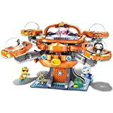 for Age 6+ Building Block Octonauts Octo-Pod Octopod Playset & Barnacles Kwazii Peso Inkling 698pcs Building Brick Set-Without Original Box (3708)