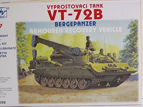 SDV Modellbau Kunststoff Modellbausatz Militär 1:87 H0 Bergepanzer VT-72B Panzer Fahrzeuge Ostblock