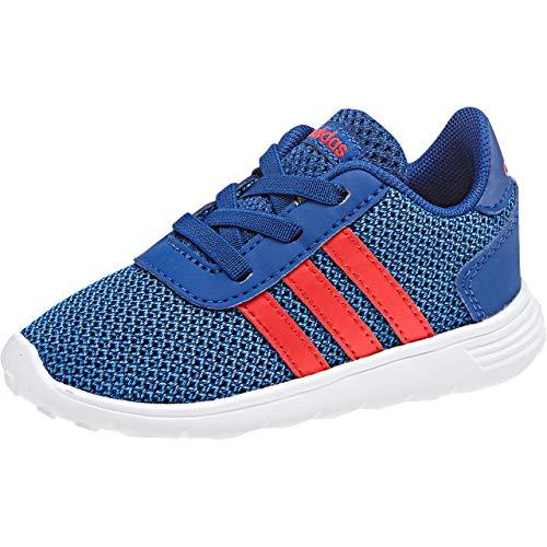 Adidas Lite Racer Inf, Zapatillas de Estar por casa Bebé Unisex, Azul (Reauni/Azalre/Azubri 000), 18 EU