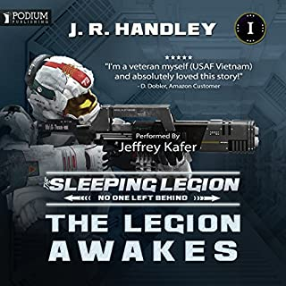 The Legion Awakes cover art