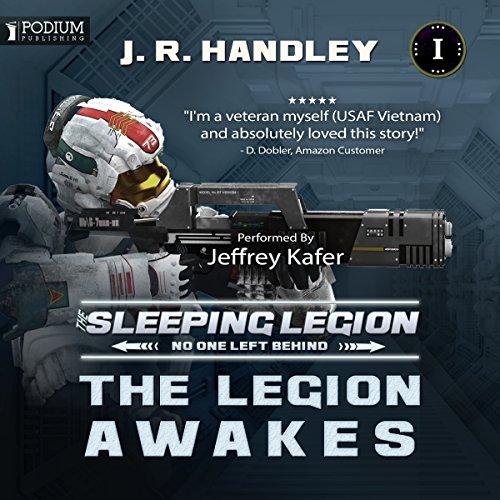 The Legion Awakes audiobook cover art
