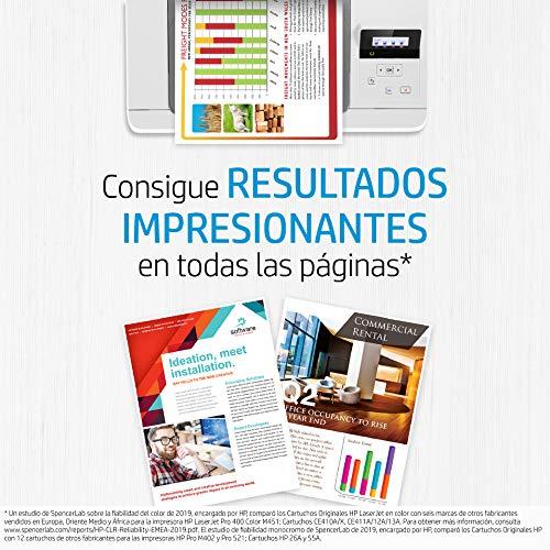 Unidad de Recogida de Tóner HP LaserJet Original CE980A, Color, de 150.000 páginas, para impresoras HP Color LaserJet Serie MFP M775, HP Color LaserJet Enterprise Serie CP5525 y M750