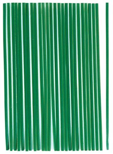 Connex Pflanzenbinder 15 cm - Praktisches Set mit 100 Stück - Mit flexiblem Drahtkern - Für Garten, Haushalt & Hobby - Aus Kunststoff / Allzweckbinder / Drehbinder / Universalbinder / FLOR78640