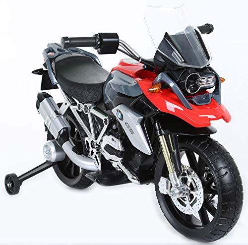 giordanoshop Moto Elettrica per Bambini 12V BMV GS 1200 Rosso