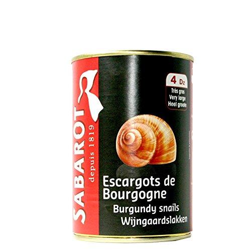 Sabarot - Escargots de Bourgogne 4 douzaines 250g