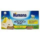 Humana Omogeneizzato Pera Bio, 12 x 100g...