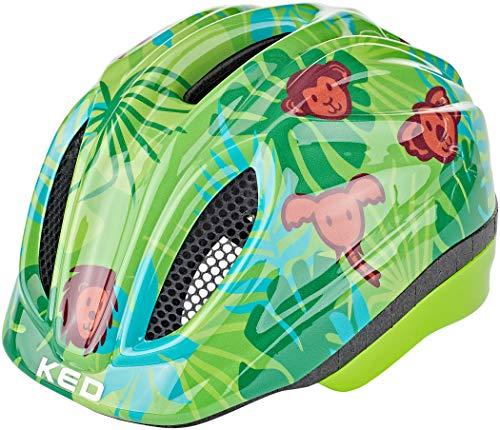 KED fietshelm kinderen en jongeren Meggy Trend Safari Green, S/M (49-55 cm)