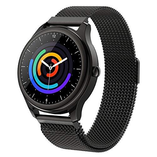 WuMei101 Sleep Heart Rate Fashion Smart Watch Rastreador de fitness con ritmo cardíaco y monitor de presión arterial, reloj a prueba de agua con monitor de sueño, adecuado para niños, mujeres,