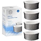 HWF62 Humidifier Filter for Holmes HM1300 SCM1100 HM1761 HWF-62 Filter Replacement (4 Pack)
