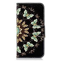 Huawei P30 PUレザー ケース, 手帳型 ケース 本革 ポーチケース 財布 カバー収納 防指紋 ビジネス 手帳型ケース Huawei P30 レザーケース