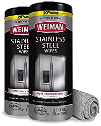 powerful Fabric with Wyman Stainless Steel Cleaner and Microfiber Cloth-Removal …