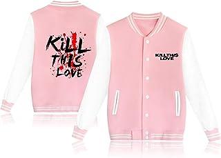 Fittrame Blackpink - Chaqueta de béisbol para uniforme Kpop Album Kill This Love Periférico ropa S-XXL