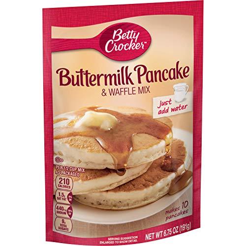 Betty Crocker Buttermilk Pancake Mix 6.75 oz Pouch (Pack of 9)
