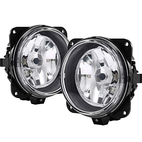 UFRAME Compatible with Ford 2000 2001 2003 2004 F-150 Harley Davidson Fog lights Pair Left + Right (without Brackets)