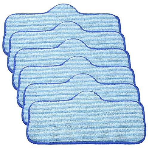 KEEPOW Mikrofaser-Pads für Dupray Neat Dampfreiniger 6 Stück